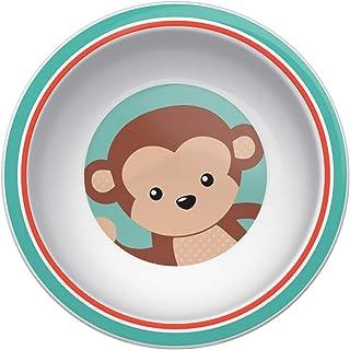 Pratinho Bowl Animal Fun Macaco, Buba, Colorido