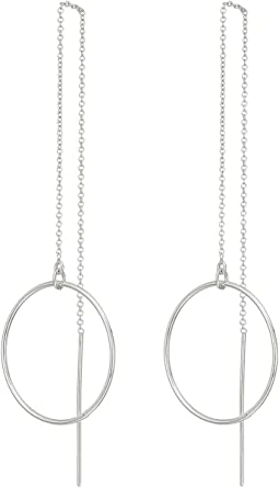 Dogeared - Playing By Ear, Hoop Threader Earrings