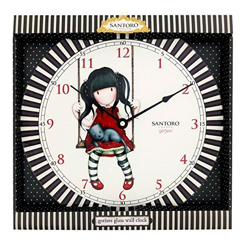 Reloj de pared Gorjuss con diseño Ruby