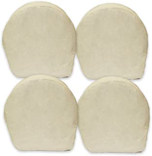 ABN Canvas Wheel Covers - 32 Inches, Set of 4, Best for RV, Car, Camper, Trailer, Truck, SUV