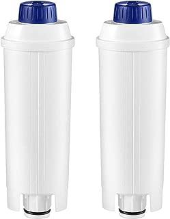 Compatible De'Longhi 5513292811 Water Filter for DELONGHI De'Longhi DLS C002 CFL-950 / SER3017 (Pack of 2)