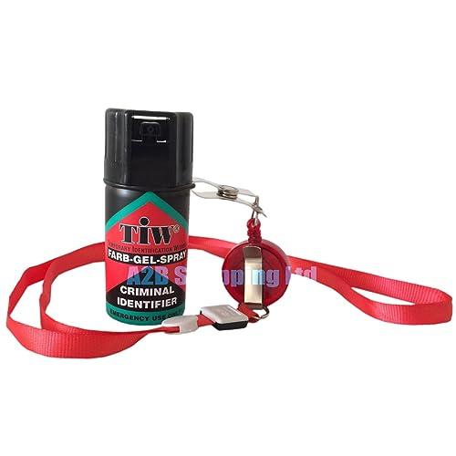Farb Gel Farbgel Red Dye Personal Self Defence 100% UK Legal Attack Security Emergency Spray (1)