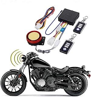BONATECH DC12V Motorcycle Anti-Theft Alarm Security System Remote Control Engine Start Bike Anti-Hijacking Cutting Off Rem...