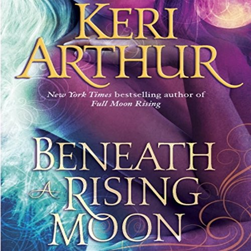 Beneath a Rising Moon audiobook cover art