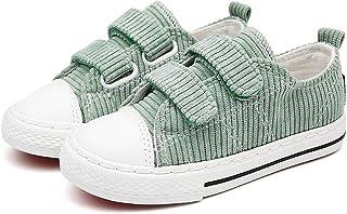 [カタク] 子供 ベビーシューズ スニーカー ボーイズ ガールズ カジュアルシューズ スポーツシューズ 上履き 軽量 通気性 滑り止め 可愛い キッズシューズ 子供用靴 デッキシューズ 3歳-14歳