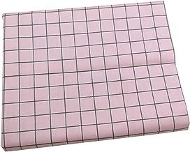 DIY Roze Butterfly Grid Gedrukt Katoen DIY Tissue Patchwork Naaien Baby Toy Beddengoed Quilt voor naaien, doe-het-zelf-amb...
