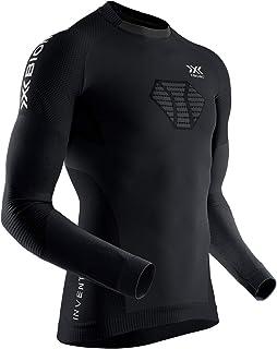 X-Bionic Invent 4.0 męska koszulka do biegania, z długimi rękawami, koszulka kompresyjna, koszulka sportowa, do biegania, ...