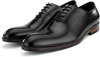 [BONGZUO] 紳?士靴、メンズレザー起毛オックスフォードシューズビジネスドレスアップポインテッドイングランドメンズシューズ2018秋、JP-HS03-WJ3