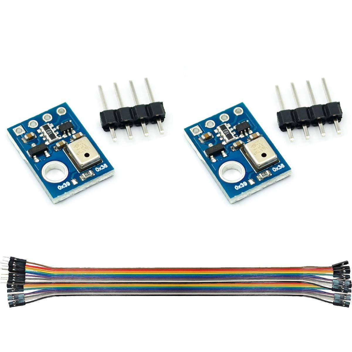 DAOKI 2Pcs Temperature and Humidity Sensor Module AHT10 Measurem