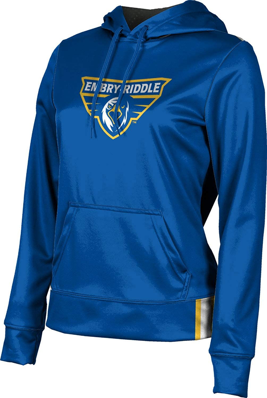 Embry-Riddle Aeronautical University Prescott Girls' Pullover Hoodie, School Spirit Sweatshirt (Solid)
