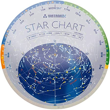 小型 星座 早見 盤 スター チャート no 1108