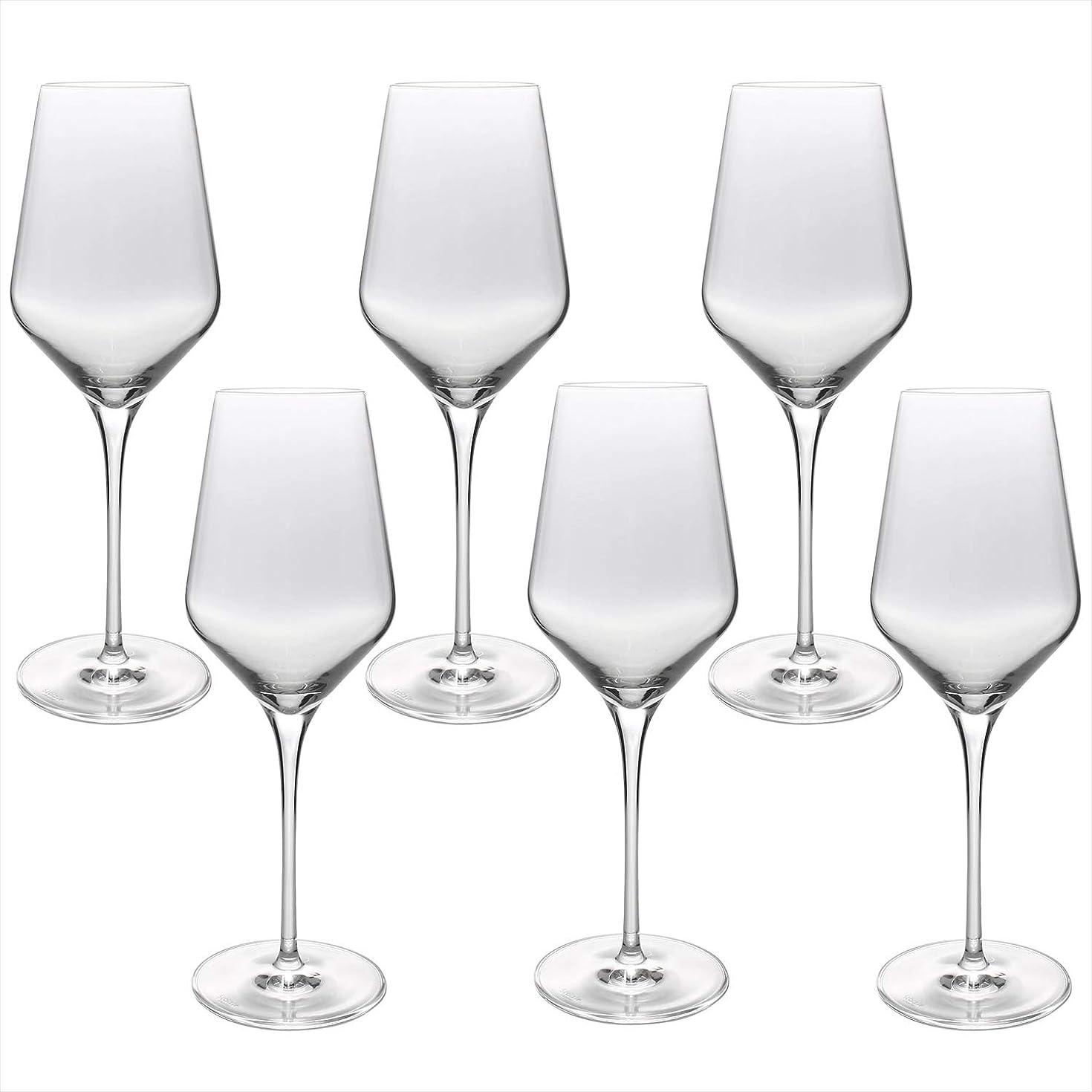 古風な比類なきバケツstolzle ワイングラス クリア 405ml 「クアトロフィル」 ホワイトワイングラス 6点入