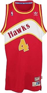 Adidas Men's Atlanta Hawks Spud Webb Retired Player Swingman Jersey