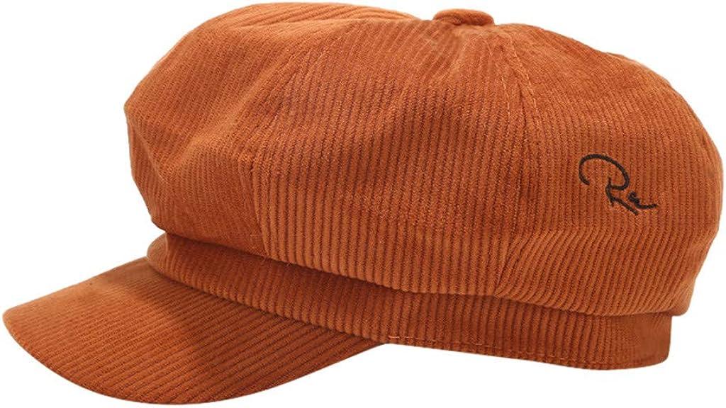 SicongHT Womens Visor Beret Newsboy Cap Baker Boy Hats Autumn Winter Ladies Gift