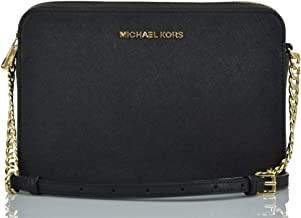 Michael Kors Women's Jet Set Item Crossbody Bag No Size (Black)