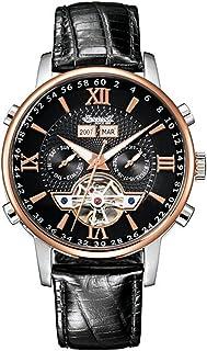 インガーソル 腕時計 自動巻き 限定生産品 フルカレンダー オープンハート Grand Canyon II IN4503RBK [並行輸入品]