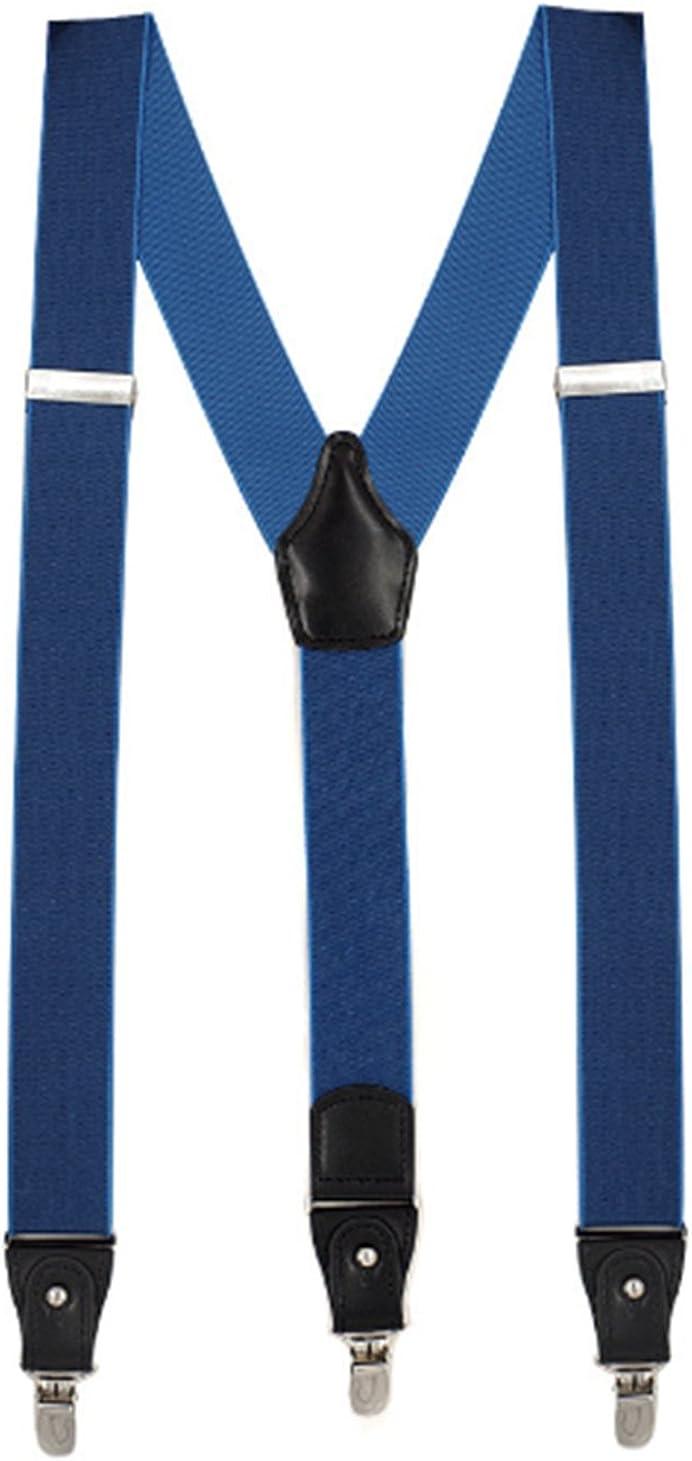 YUNEE Men Suspenders Modern Trousers Pants Men Y Shape 3.5 CM