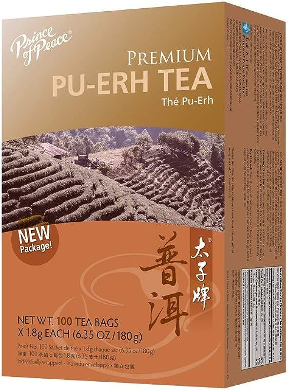 Prince Of Peace Tea Premium Pu Erh Tea 100 Teabags