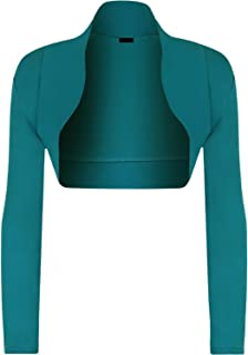 Momo&Ayat Fashions Ladies Long Sleeve Jersey Shrug Bolero Cardigan Top AUS Size 8-14