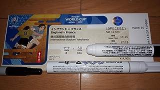 RWC2019 台風で中止試合の チケット イングランド対フランス ラグビーワールドカップ2019 検 日本代表 KC267