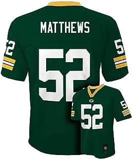 Outerstuff Clay Mathews Green Bay Packers Toddler Green Jersey