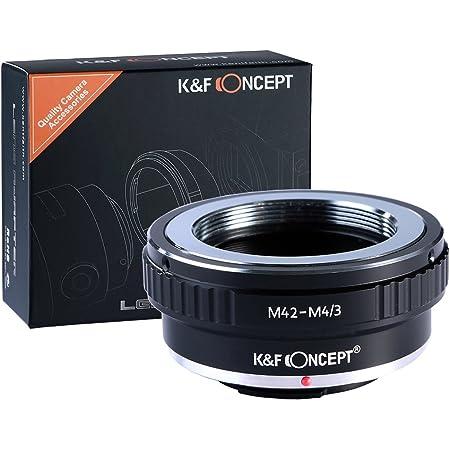 マウントアダプター M42-M4/3 M42レンズ-Micro4/3カメラ装着用 無限遠実現 レンズアダプター K&F Concept