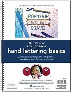 Best strathmore hand lettering basics Reviews