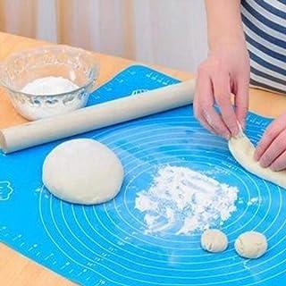 LLAAIT Épaissir Silicone Pétrir la Pâte Tapis Échelle Anti-Adhésif Cuisine Cuisson Outil Gâteau Planche Grand Doux Haute T...