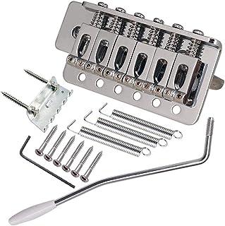 Negro Gazechimp 6 Cuerdas de Guitarra El/éctrica de Puente de Silla de Fender Telecaster Accesorio para Instrumento Musical