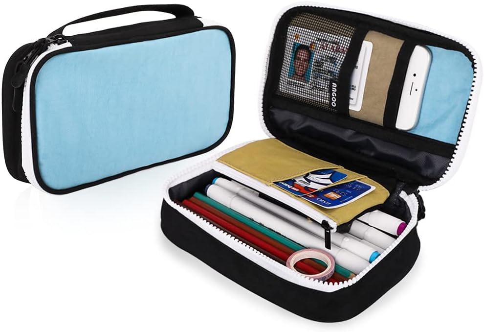 iSuperb Portable Pencil Case online shop Zipper Passport Large Capacity New Shipping Free Bag