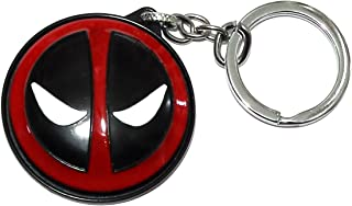 J&C Family Owned Brand Marvel Deadpool Spinner Style Keychain w/Gift Box