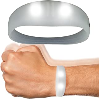 Fun Central AC935 LED Motion Activated Wristband - White