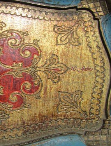 10 Jahres-Kalender: eine Dekade im Überblick, ca. DIN A4, Orient Motiv