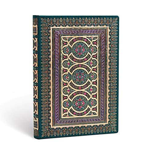Paperblanks - Daphnis und Chloe - Chloe - Notizbuch Midi Unliniert, Midi (180 x 130)