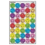 トレンド ごほうびシール スマイル カラフル 160片 Trend superSpots Stickers Silly Smiles T-46305