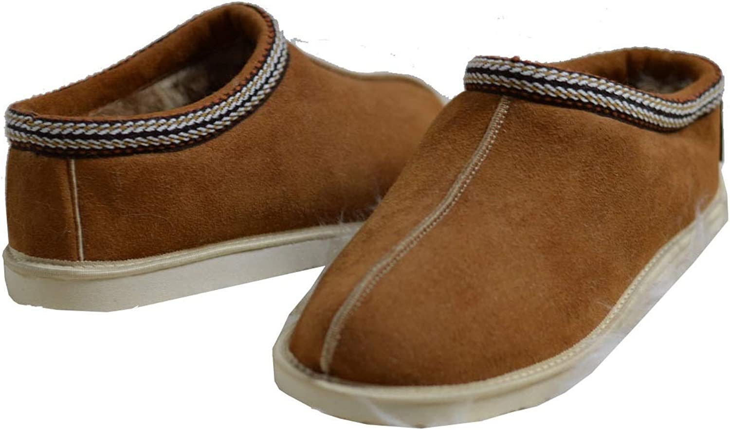 Yeti & Sons New Hand Crafted Luxury Women's Unisex Sheepskin Ankle Boot Slippers