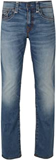 Men's Geno Relaxed Slim Super T Jeans with Flaps in Indigo Cascade