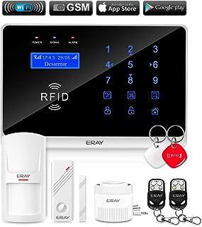 ERAY WM3FX Sistema de Alarma WiFi + gsm/ 3G, Alarmas para Casa, Antirrobo