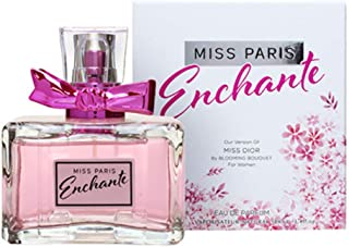 Mirage Diamond Collection Miss Paris Enchante Eau de Parfum, 100ml