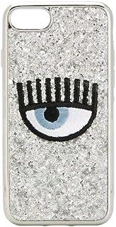 Chiara Ferragni Women's CFCIP78031SILVER Silver Pvc Cover