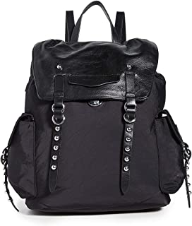 Rebecca Minkoff Women's Bowie Nylon Backpack, Black, One Size
