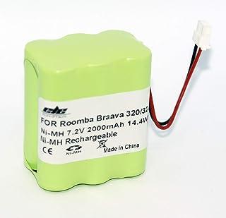 【大容量2000mAh】iRobot Braava アイロボット ブラーバ 掃除機用 Braava 320/321 Mint 4200/4205 交換バッテリー