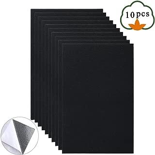 Adhesive Felt Sheets, ETSAMOR 10pcs A4 Size 8.3