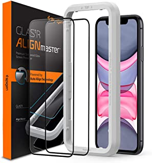 Spigen Tempered Glass Screen Protector [Edge to Edge Protection] Designed for iPhone XR