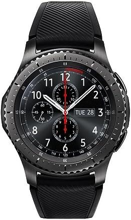 SAMSUNG GEAR S3 FRONTIER Smartwatch 46MM (Bluetooth Only) - Dark Grey (Certified Refurbished)