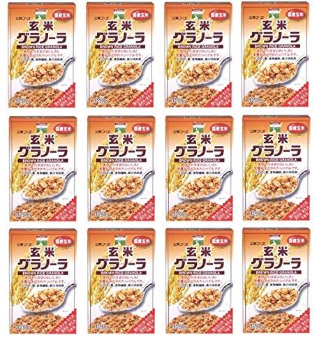 1104 三育フーズ(サンイク) 玄米グラノーラ320g×12個 [並行輸入品]
