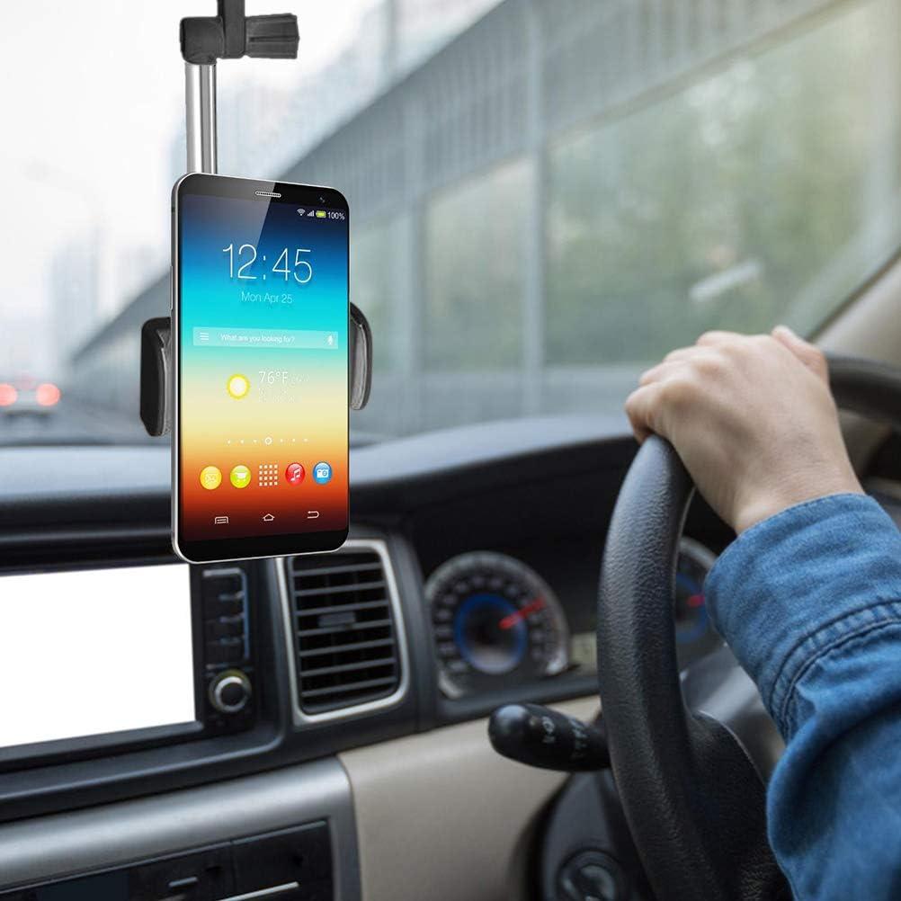 Funmix Supporto Cellulare Auto,Supporto Cellulare Auto Supporto per Tazza Auto Collo di Flessibile e Regolabile 360 Gradi Universale,Larghezza 47 mm-71 mm