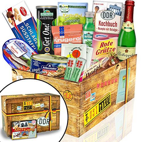 """Ostpaket """"DDR SPEZIALITÄTEN BOX M"""" - Ostprodukte Geschenkset"""
