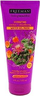 FREEMAN Cactus Cloudberry Water Gel Mask, 6 Ounce (46107-GLB-OS)
