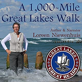 A 1,000-Mile Great Lakes Walk audiobook cover art